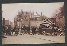 Krommenie  19 april 1910  (door brand verwoeste huizen)