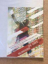 U2 City of Blinding Lights New Single CD Rock Promo Music Poster Memorabilia