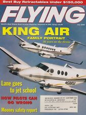 Flying Magazine (Jul 2000) (Beech King Airs, Challenger 604, Mooney Safety)