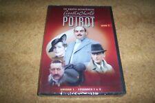 DVD HERCULE POIROT NO 1 SAISON 1 EPISODEs 1 à 3  NEUF