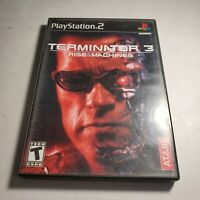 Terminator 3 Rise Of The Machines Sony Playstation 2 ps2