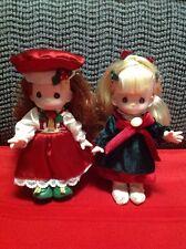 Holiday Precious Moments Doll - Lot Of 2!