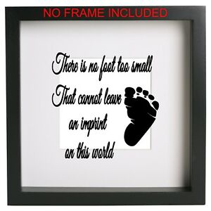 There is no foot too small ...  Box Frame  Sticker Quote Vinyl Decal. Ribba ect