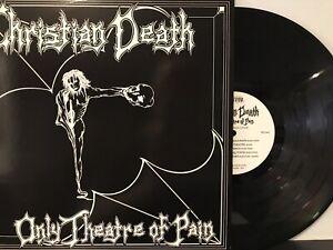 Christian Death – Only Theatre Of Pain LP 2001 Frontier Records – FLP 1007 EX/EX