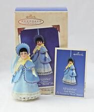 2003 Hallmark Christmas Ornament - Madame Alexander Little Women Beth March Mib