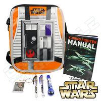 STAR WARS - X-Wing Fighter Bag & Stationery Set - Keyring Notebook Pens Case