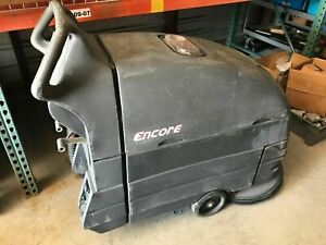 """Clarke Encore L20 Floor Scrubber 20"""" with Charger - ONLY 30 HOURS! - Sold AS-IS"""