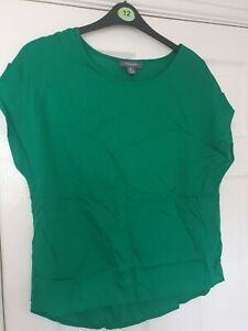 Womens Atmosphere Green Top - Size 8 BNWT