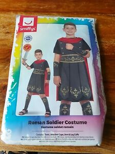 Smiffys Roman Soldier Costume / Fancy Dress - Boys Large / 10 to 12 Years