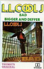 LL Cool J    BAD Bigger and Deffer Import Cassette Tape