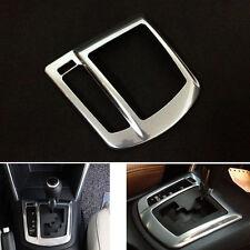 Chrome Interior AT Gear Shift Knob Cover Panel Trim For Mazda CX5 CX-5 2012-2014