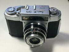 Emi K 35 Vintage 35mm film camera with case, as is