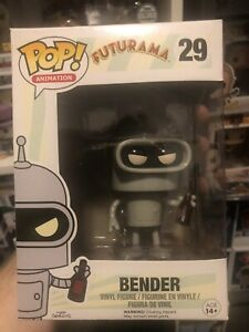 Futurama #29 Bender Funko Pop Vinyl Vaulted