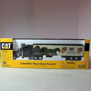 Norscot CAT Mural Semi Truck #1 Collectibles 1/64 CAT-55079-B
