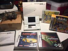 Nintendo DS Lite Console & Games Bundle  - Original Box - Plus games