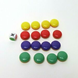 2014 Pop The Pig Game Replacement Pieces - Complete Set of 16 Burgers & Die