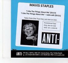(FT347) Mavis Staples, I Like The Things About Me - 2013 DJ CD