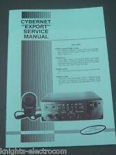 CYBERNET esportare MANUALE SERVIZIO RADIO CB COLT hygain TRISTAR PIN HAM INTERNATIONAL