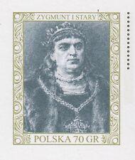 POLAND 2000 **MNH Postcard Cp#1229 Royalty - King Sigismund I the Old