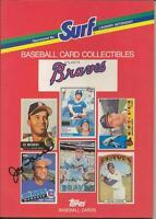 Joe Torre Signed 1987 Atlanta Braves Surf Book