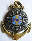 4° RIC Centenaire au dos Infanterie Coloniale insigne authentique Drago 1954