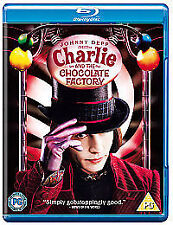 Charlie And The Chocolate Factory (Blu-ray, 2009)