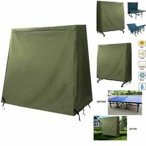 Hanshi Heavy Duty Outdoor Ping Pong Table Cover Resistant Designed To Fits Most