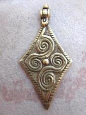 Large Brass Pendant [68467]