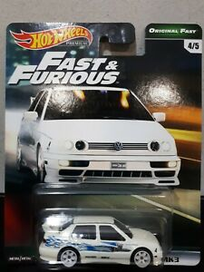 Hot Wheels 2019 Fast & Furious Original Fast Volkswagen Jetta MK3 Hotwheels
