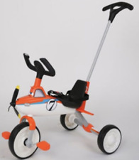 Airplane Kids Trike Orange & White Kids Child Buggy Toddler Bike **BRAND NEW**