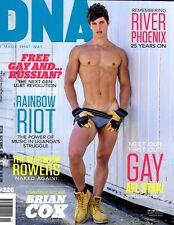 DNA Magazine #226 gay men JOHNNY MARIO ROSSI