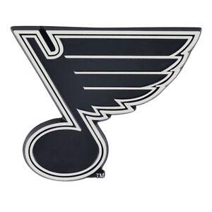 St. Louis Blues NHL Chrome Metal Car Auto Emblem Team Decal Logo Ships Fast