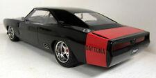 Greenlight 1/18 SCALA Custom 1969 DODGE Charger Daytona Nero/Rosso modello auto