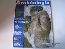 **c Archéologia n°419 Carnyx de Tintignac / Art du Gandhara / pirogue de Chalain