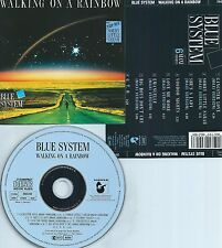 BLUE SYSTEM-WALKING ON A RAINBOW-1987-GERMANY-HANSA RECORDS 260 218-CD-NEW-