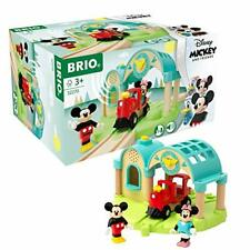 BRIO Disney Mickey Mouse Train Station, Age 3+ Compatible with other Brio Sets
