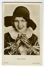 1920s Vintage Movie Star MARY BRIAN antique German photo postcard