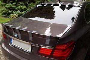 BMW F01 F02 Trunk Lip Spoiler A Type Sedan 740i 750Li 760Li 2009-2015