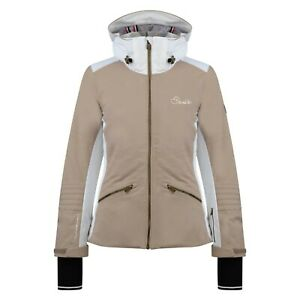 Female ski jacket and winter coat. Dare2B. Revival. Cappuccino. Size 8. DWP355