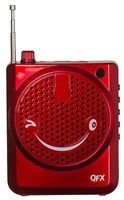 NEW QFX CS-80US Portable PA System Headset/Microphone +USB/Micro-SD & FM Radio