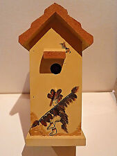 New listing Old West Bird House - Cactus On Either Side - Excellent Condition