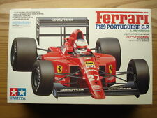 Tamiya 1:20 Scale Ferrari F189 Formula 1 Model Kit New - Nigel Mansell/G.Berger