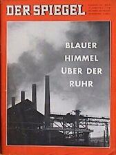 SPIEGEL 33/1961 Blauer Himmel über der Ruhr