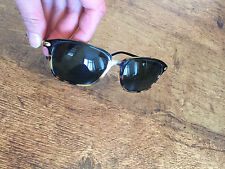 100% genuine vintage Montblanc Meisterstuck designer sunglasses, tortoiseshell