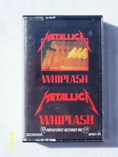 Metallica - Whiplash Cassette Tape *RARE* Megaforce Records Inc.1st Print