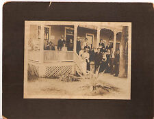 John Newton Cline California Photo At The Granite Boarding House & Hotel In 1915
