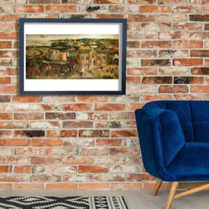 British Field of the Cloth of Gold Wall Art Poster Print
