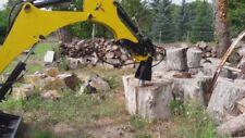 Log Splitter Cone Cleaver Wood splitter Screw Conical For Mini Excavator