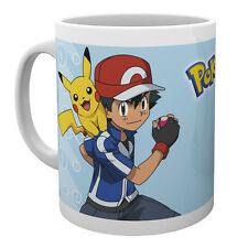 Pokemon Ceramic Mug Cup Pikachu Ketchum Gift Fan New Official Licensed Product