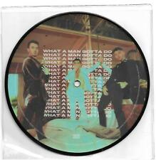"""JONAS BROTHERS-WHAT A MAN GOTTA DO LIMITED EDITION PICTURE DISC VINYL 7"""""""